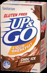 UP&GO Gluten Free Choc Ice
