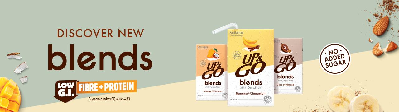 UP&GO blends